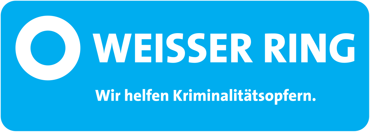 Logo des Weisser Ring Opferschutzes.